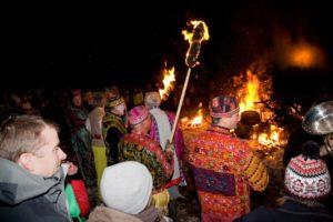 Allendale village Tar Bar'l festival