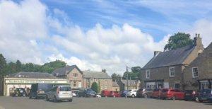 Allendale village market square
