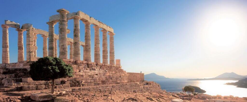greece temple of poseidon