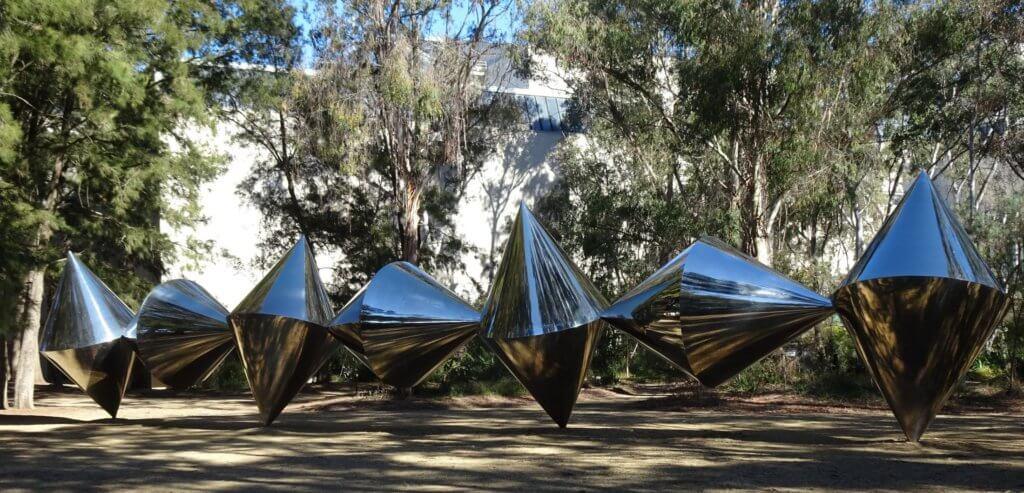 Cones sculpture