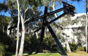 national art gallery sculpture garden: ik ook sculpture