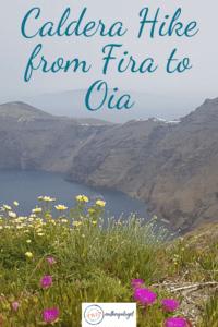 Caldera HIke from Fira to Oi
