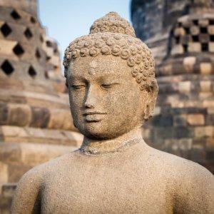 Borobodur Temple Buddha statue