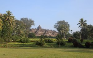 View of Borobodur Temple