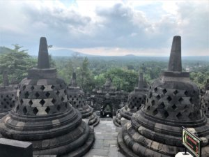 Borobodur Temple Upper Terraces