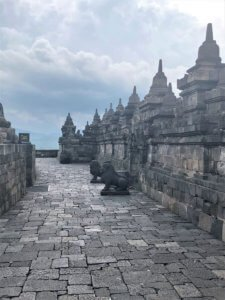 Gallery Level at Borobodur Temple