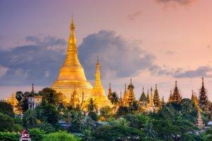 Major places of interest in Yangon myanmar - the Shwedagon Pagoda Myanmar