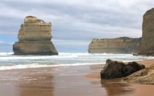 12 Apostles Great Ocean Road close up from beach