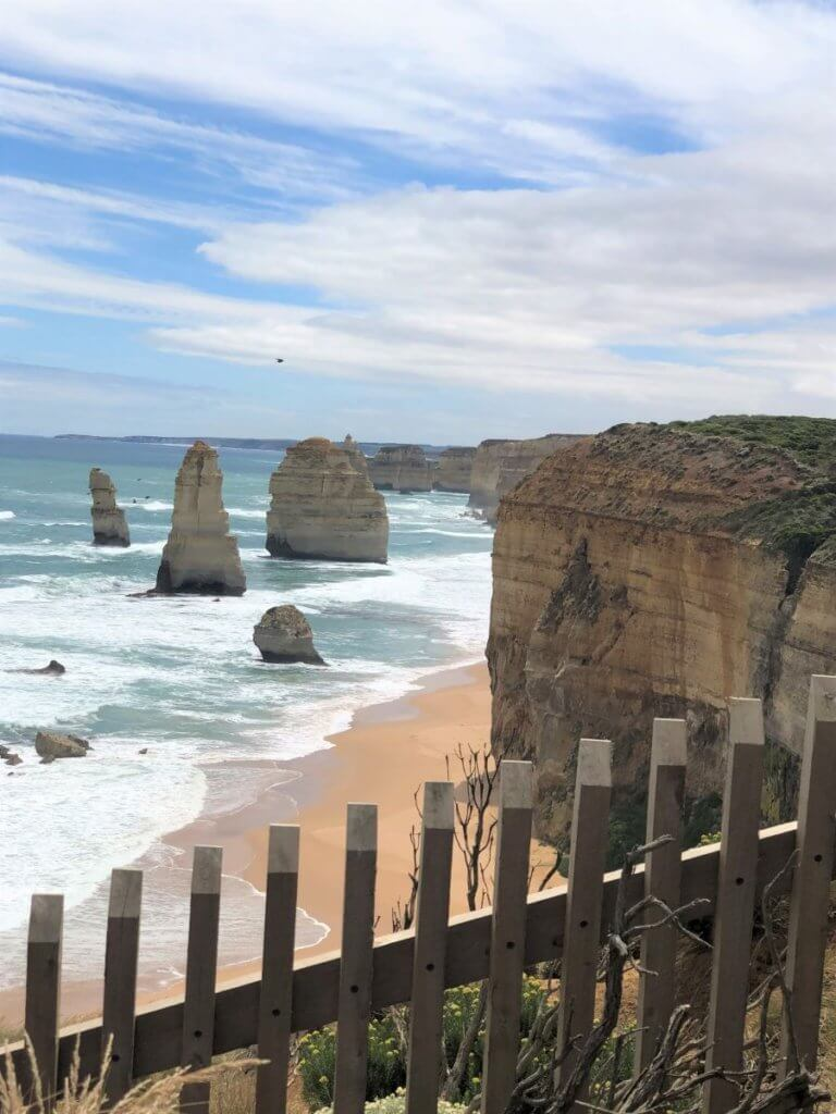 12 Apostles from viewing gallery