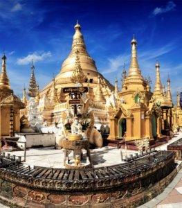 astrological station shwedagon pagoda