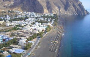 perissa beach and village accommodation