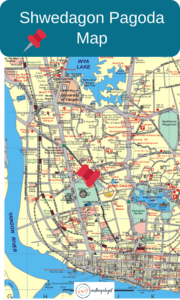 shwedagon pagoda map