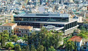 New Acropolis museum, Athens Greece