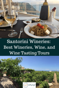 Santorini Wineries and wine tasting tours