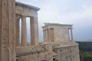Temple of Athena Nike when visiting the Acropolis