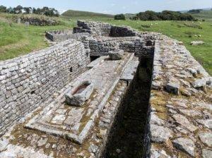 Housesteads roman fort latrine hadrianswall