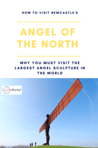 how to visit newcastle's angel of the north pinterest pin