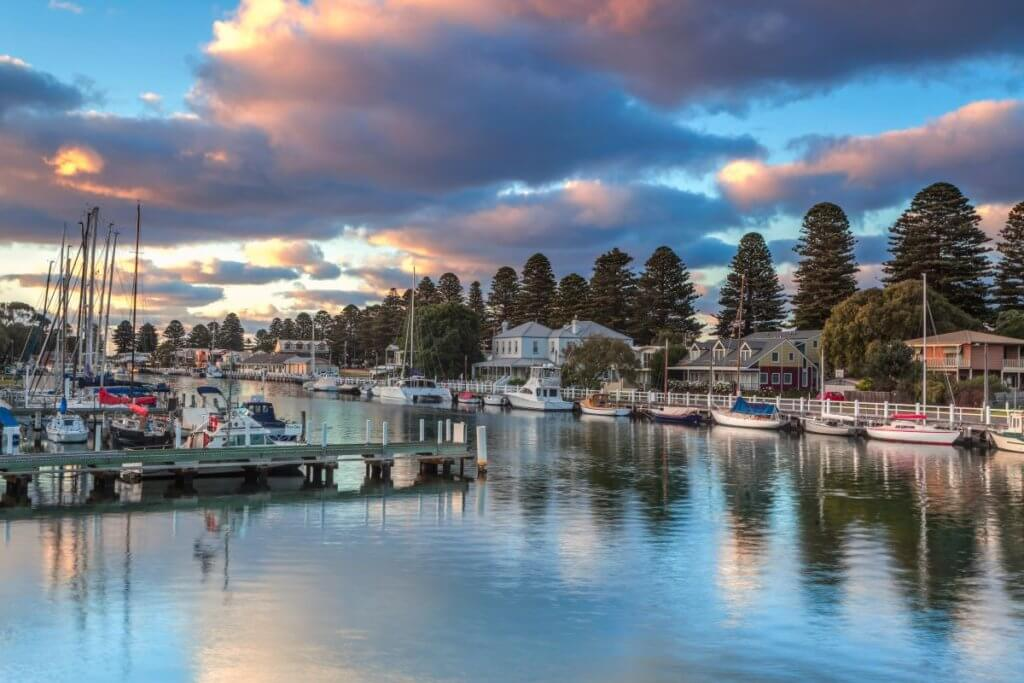 where to stay on the great ocean road_Port Fairy