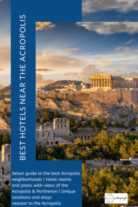Best Athens hotels near the Acropolis
