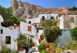 Anafiotika accommodation near the Acropolis