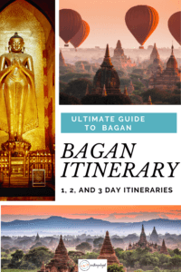 Bagan Itinerary - things to do in Bagan