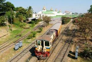 What to do in Yangon: Ride Yangon Circular Train