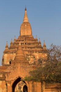Htilominlo Temple in Bagan , Myanmar