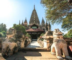 Mahabodhi temple myanmar bagan