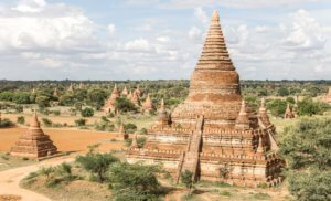 Mingalazedi pagoda old bagan city itinerary day 1