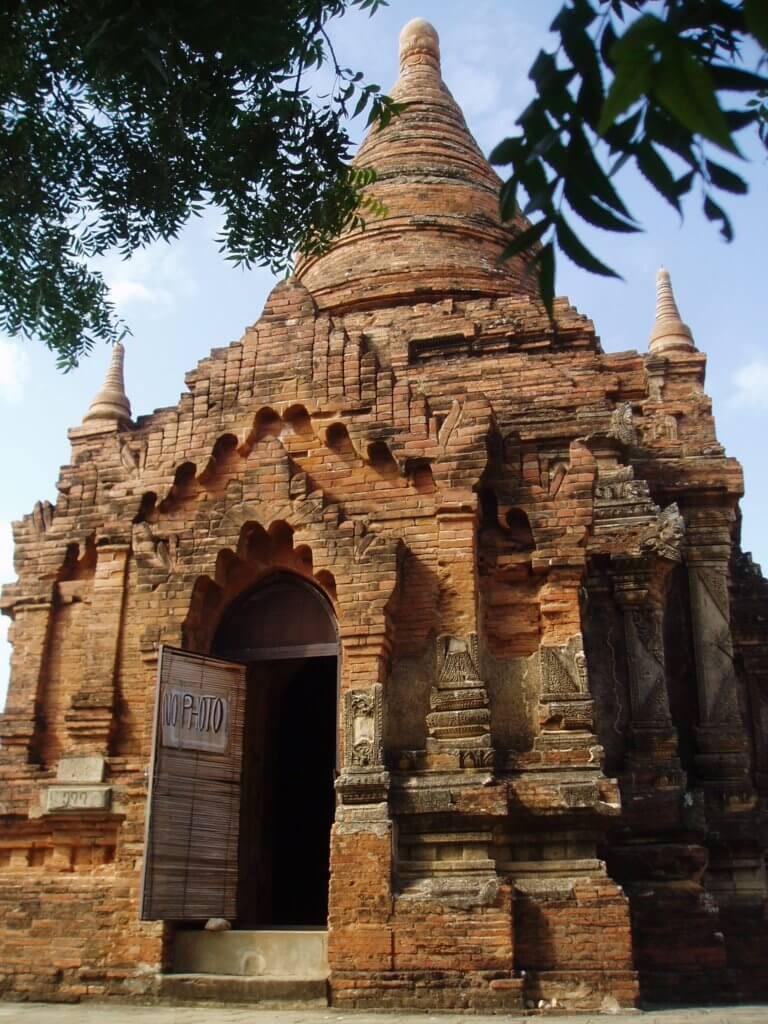 nandamannya temple bagan