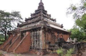 Pitakat-Taik Old bagan myanmar itinerary day 1