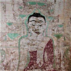bagan temple mural for bagan myanmar travel