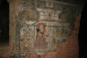 what to do in bagan - see the murals in pahtothamya temple old bagan myanmar