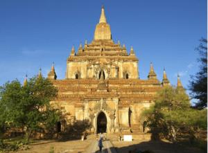 Thatbinnyu temple old bagan