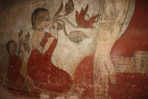 sulamani temple fresco, bagan myanmar 1 day bagan itinerary