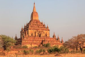 Sulamani temple sunset bagan_things to do in Bagan