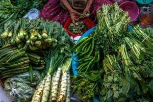 26th street market fresh market yangon myanmar