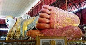 image of Chauk Htat Gyi Reclining Buddha Image