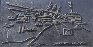 1920 quarantine station map