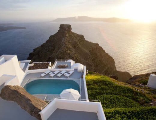 Grace Santorini hotel with private pool