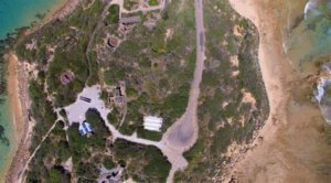 Overhead View of Fort Nepean, Mornington Peninsula, Australia