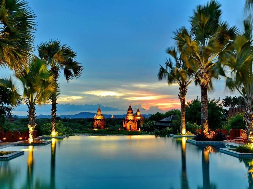best hotels bagan : aureum palace hotel bagan[3575]
