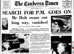 harold holt disappearance