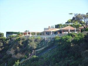 millionaire's walk cliff top house
