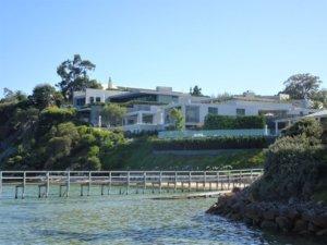 millionarie's walk house in portsea