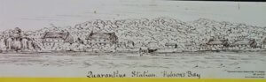 quarantine station 1881 drawing