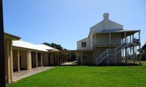 quarantine station buildings