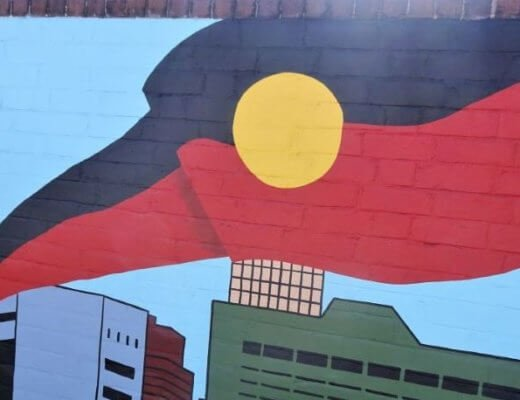 40000years aboriginal street art sydney