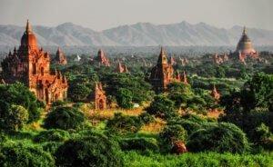 Ancient city of Bagan Myanmar