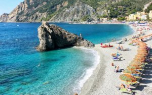 where to stay in cinque terre - near Monterosso al Mare beach
